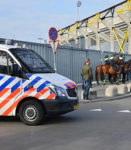 Met nieuwe aanhouding van man uit Breda staat de teller na de rellen bij NAC-Willem II nu op 24