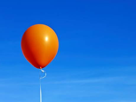 Geen 'foute' ballon meer de lucht in op Koningsdag