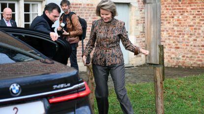 Beschermvrouw Koningin Mathilde bezoekt Alamire Foundation