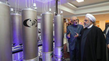 """Iran zegt vijf kilogram verrijkt uranium per dag te gaan produceren: """"We willen de vijand bedanken"""""""