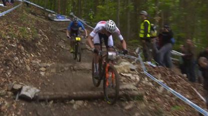 Van der Poel derde in Wereldbeker mountainbike, Schurter primus in Albstadt