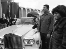 Rolls-Royce van bokslegende Muhammad Ali geveild in Knokke