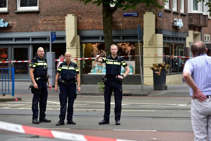 Bij de schietpartij in de Beethovenstraat viel een dode.