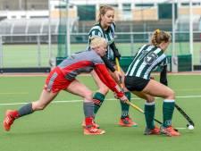 Breda hockeyvrouwen één zege verwijderd van titel