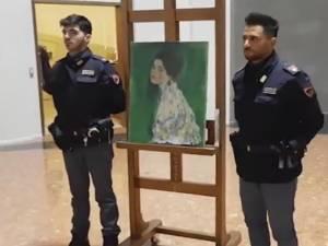 Une toile de Klimt retrouvée dans un sac-poubelle