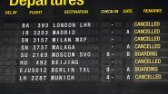 Bijna negentig procent passagiersvluchten geannuleerd op Brussels Airport