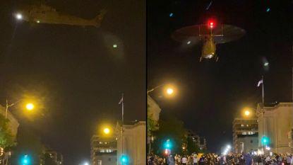 Oorlogstactiek in Washington DC: onderzoek naar inzet Amerikaanse legerhelikopters om demonstranten uit elkaar te drijven