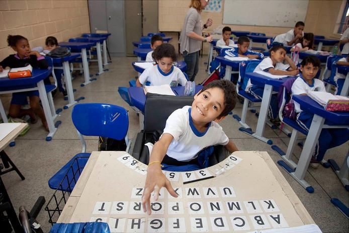 Ook in Brazilië zet het Liliane Fonds zich in voor kinderen met een beperking