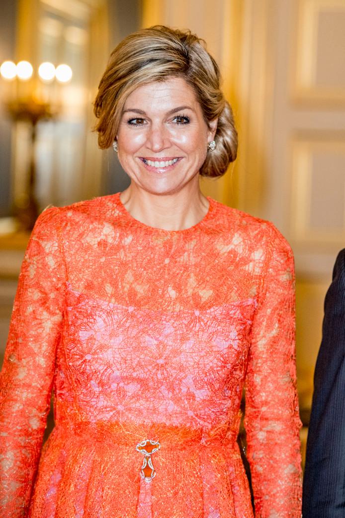 Koningin Maxima Viert 46ste Verjaardag Binnenland Ad Nl