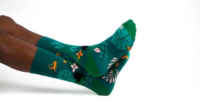 Met 1 paar sokken help je 1.320 Belgen met de ongeneeslijke longziekte mucoviscidose