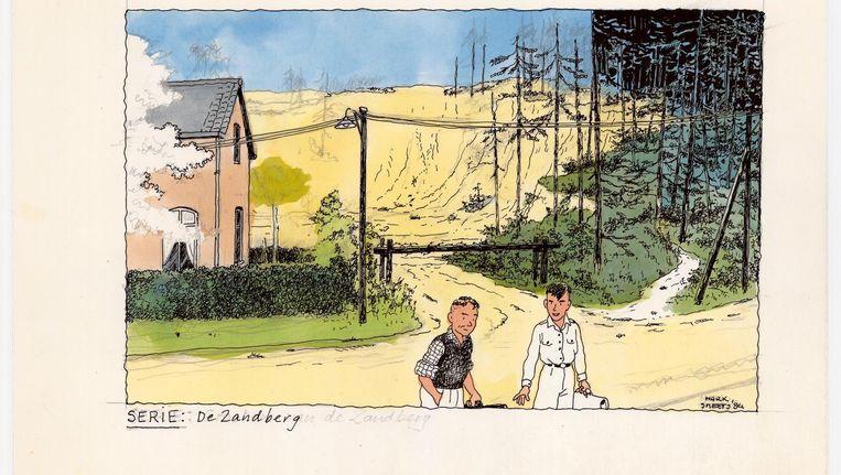 De Zandberg. Beeld