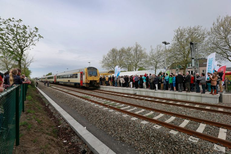 De trein zal vandaag niet vaak te zien zijn in Hamont
