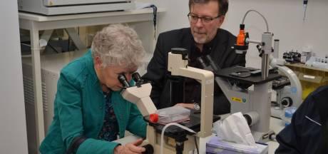 Bergh in het zadel adopteert extra project in strijd tegen kanker