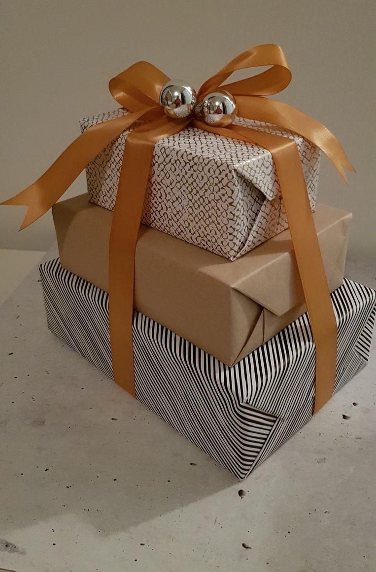 null Beeld Cadeau Pakje In