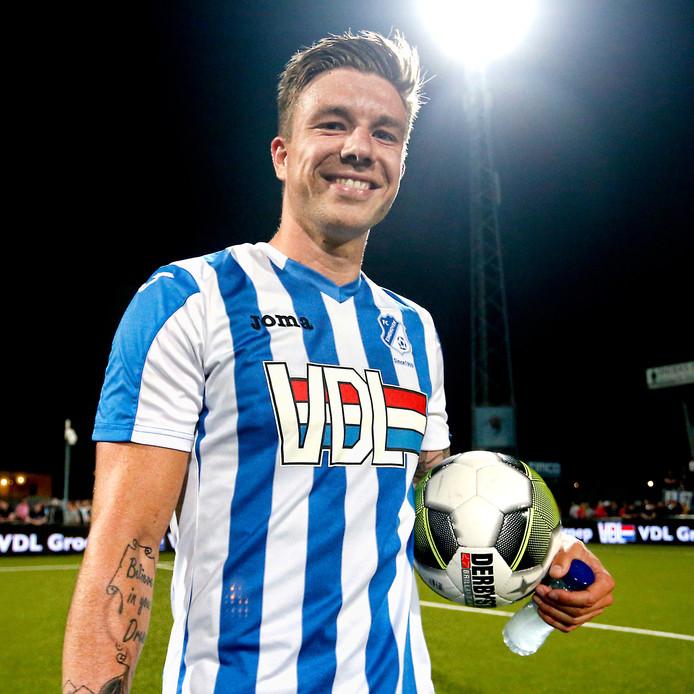 Mart Lieder werd dit seizoen topscorer van de Jupiler League met 30 doelpunten voor FC Eindhoven.