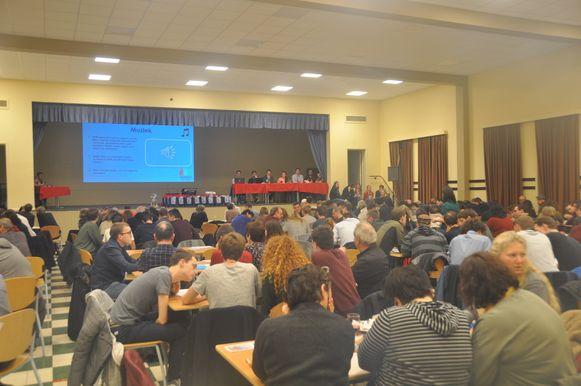 De zaal liep helemaal vol voor de derde editie van Weerdiequiz.
