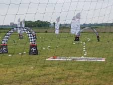 Dikke vijftig deelnemers voor NK Drone Racen in Vught: 'Vliegen met een drone geeft mij vrijheid'