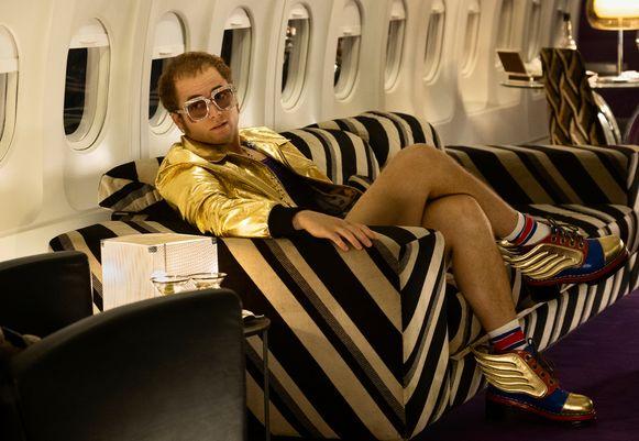 Taron Egerton als Elton John in 'Rocketman'.