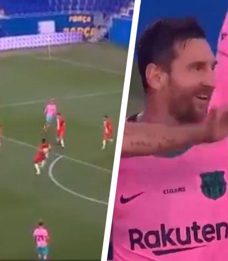 Un doublé et une passe dont il a le secret: le récital de Messi en match amical