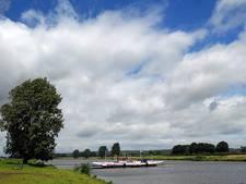 Pont Cuijk-Middelaar vaart niet meer door hoogwater in Maas
