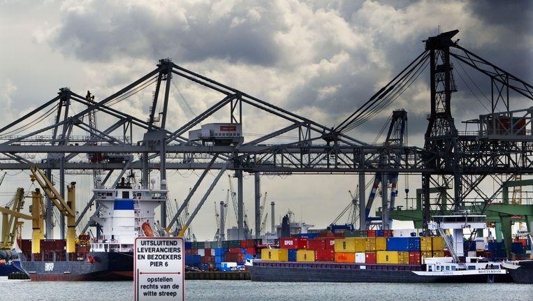 De haven van Rotterdam. Beeld anp
