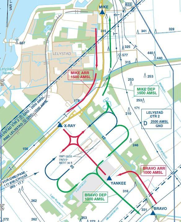 De Onderzoeksraad voor Veiligheid (OVV) heeft onderzoek ingesteld naar vijf incidenten in het luchtruim boven Lelystad Airport.