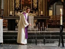 Predikant Willem Roskam (32) staat deze Pasen in een lege Domkerk: 'Ik beeld me in dat de mensen erbij zijn'