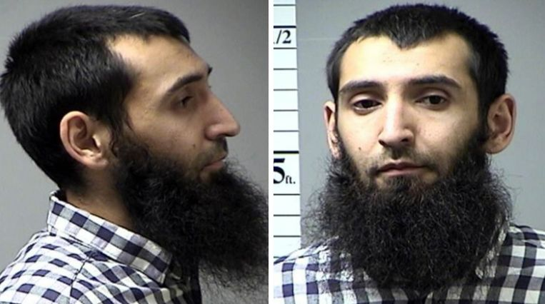 De dader van de aanslag in New York Sayfullo Saipov.