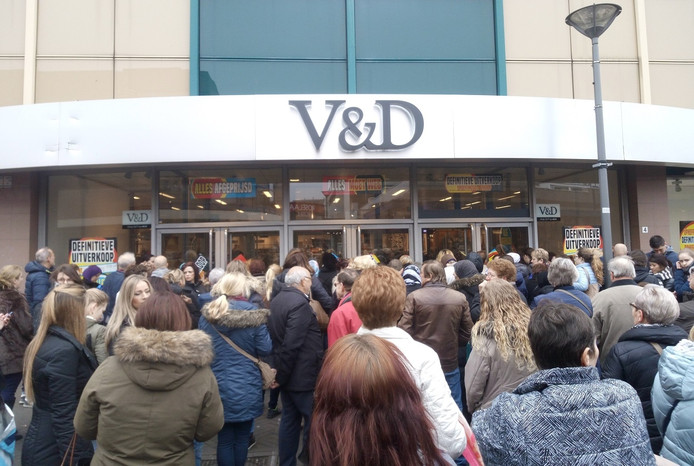 V&D in Roosendaal.