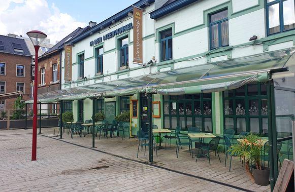 Brasserie In Den IJzerwinkel heeft de deuren gesloten.