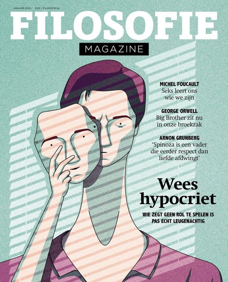 De cover van Filosofie Magazine. Beeld rv