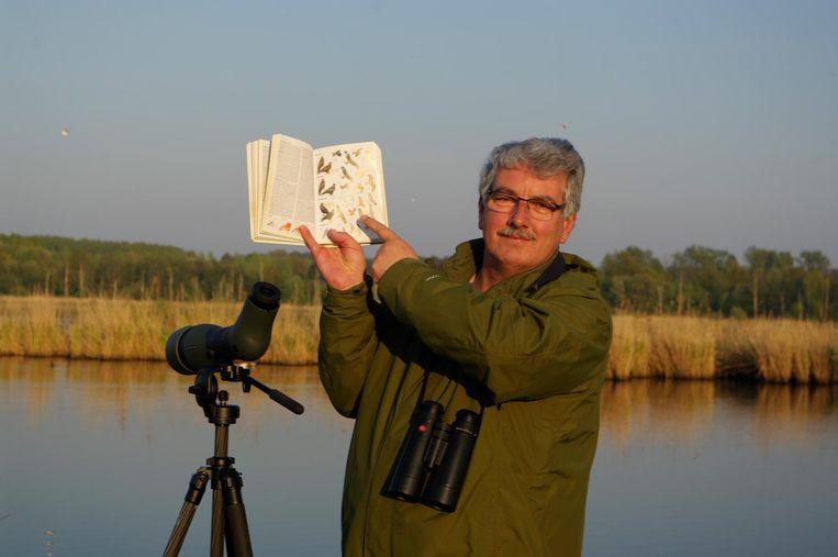 Birdwatcher Philippe Smets heeft al 265 soorten in de regio waargenomen.
