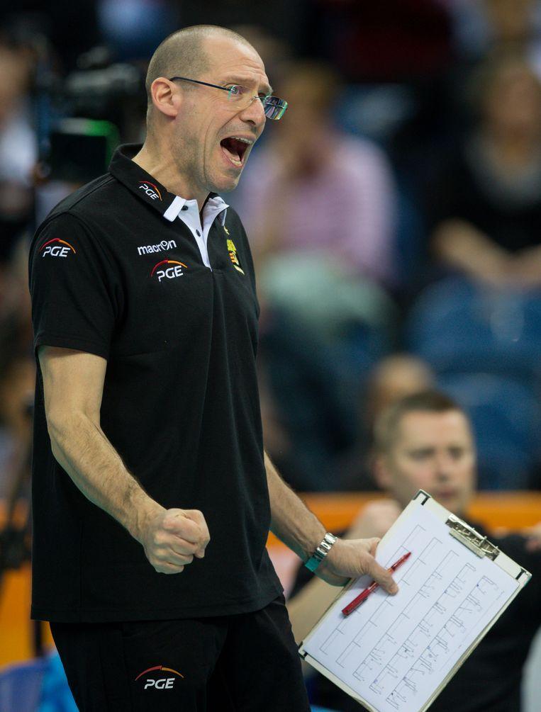 Roberto Piazza is een moderne coach die in 1991 al met databanken werkte. Beeld Getty Images