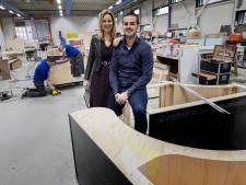Holly en Toon Verschuren legden Eindhovens interieurbouwbedrijf van hun vader opnieuw op tekentafel