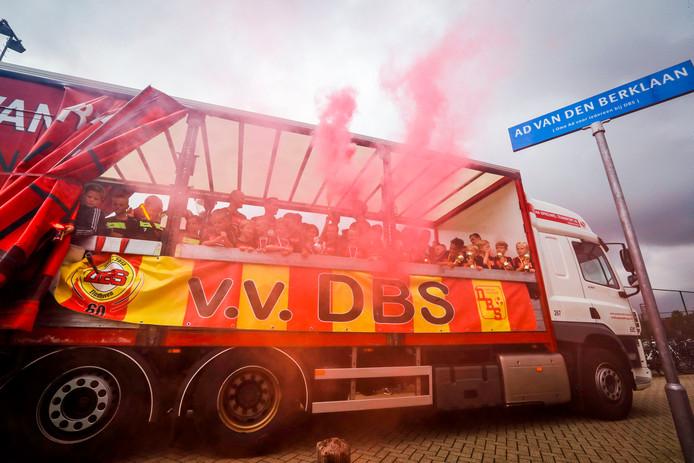 Kampioenstocht DBS door Meerhoven.