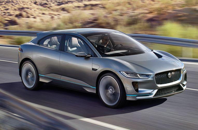 Jaguar, het I‑PACE concept.