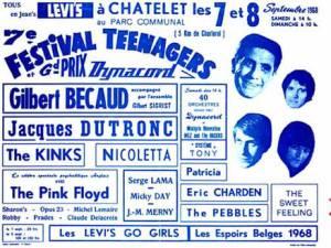 """Le retour d'un festival en plein air à Châtelet, 50 ans après le mythique """"Teenagers"""""""