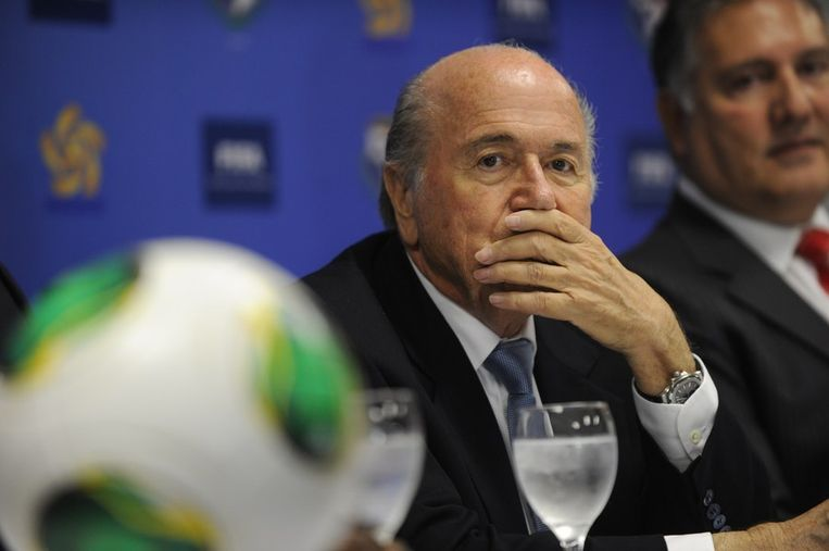 Joseph Blatter. Beeld afp