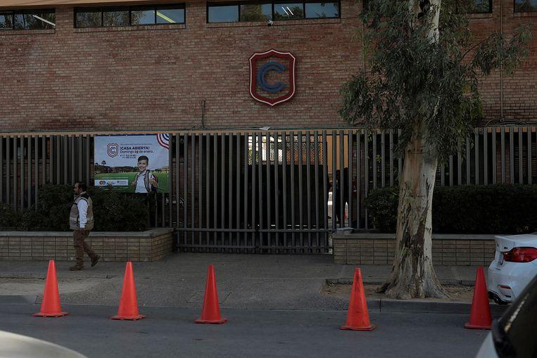 De privéschool waar de schietpartij plaatsvond.
