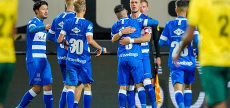 PEC Zwolle komt ook in Sittard snel op achterstand, maar breekt niet