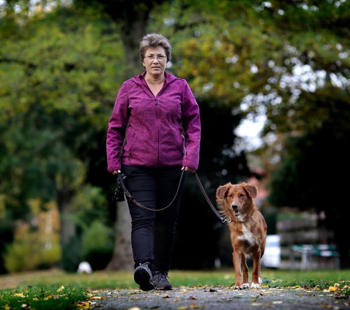 Mirjam de Ruiter heeft haar nieuwe hond.