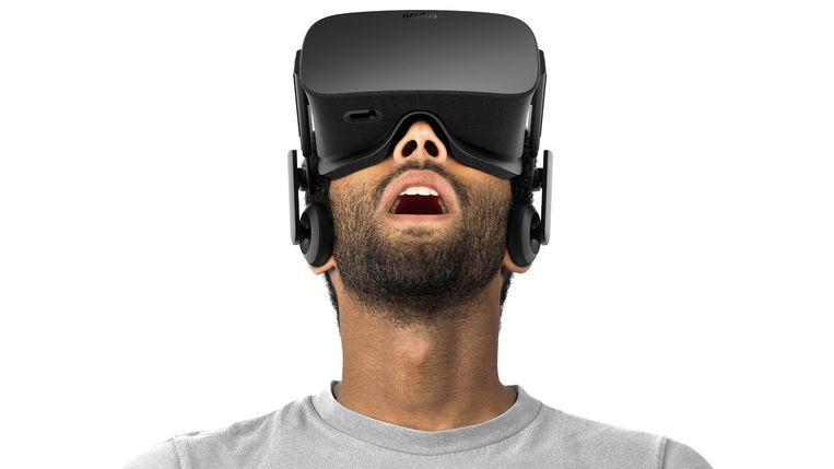 De Oculus Rift, een van de drie grote vr-platformen die inmiddels fors in prijs gezakt zijn.