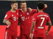 Lewandowski leidt Bayern München tegen Dortmund naar koppositie in vermakelijke klassieker
