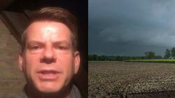 """Weerman David: """"Bewolkte start, volgende dagen veel zon"""""""