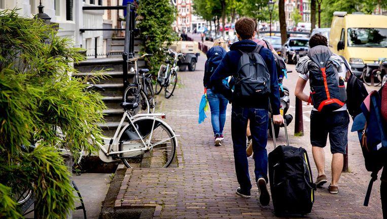 Ook in Amsterdam is Airbnb een succes. Beeld anp