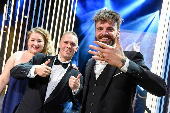 Tim Hofman met de Gouden Televizier-Ring.