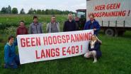 Protest tegen nieuwe hoogspanningslijn schakelt versnelling hoger: filterblokkades aan op- en afrittencomplex E403 op 14 mei