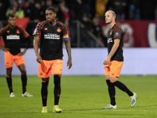 PSV verliest zichzelf in Utrecht en krijgt een enorme dreun