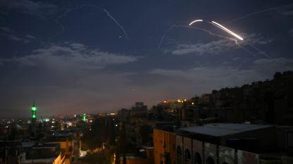 Israël voerde luchtaanvallen uit op militaire doelwitten in Syrië