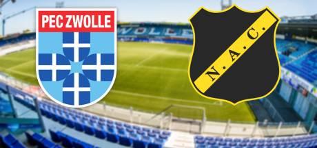 PEC Zwolle - NAC